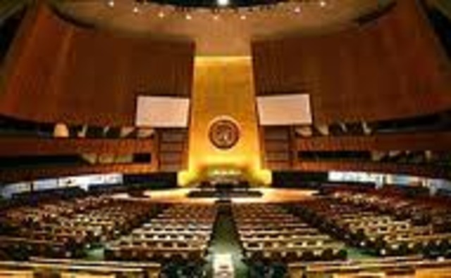First meeting of United Nations General Assembly
