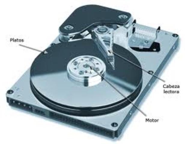 primera venta del disco magnetico