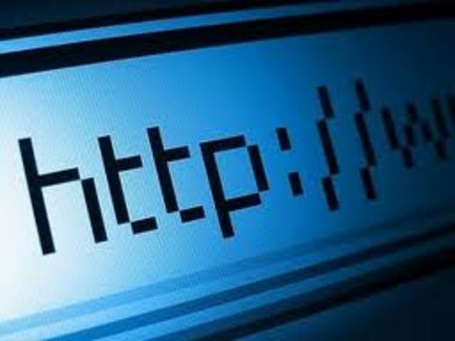 Creacion de el primer lenguaje para navegar por la Web y ARPANET deja de existir