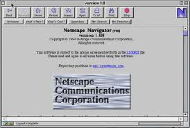 Netscape presenta su browser y Microsoft diseña MS-DOS 6.22