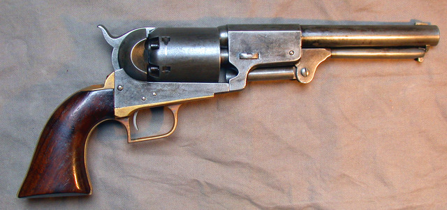 The invention of the revolver