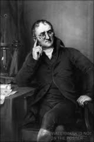 John Dalton Formulates the Atomic Theory