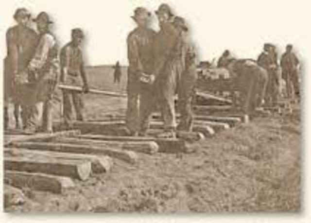 Completion of the First Transcontinental Railroad in the USA**