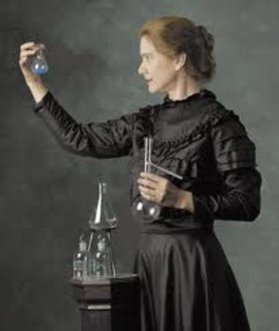 Marie Curie Discovers the Radioactive Elements Radium and Polonium