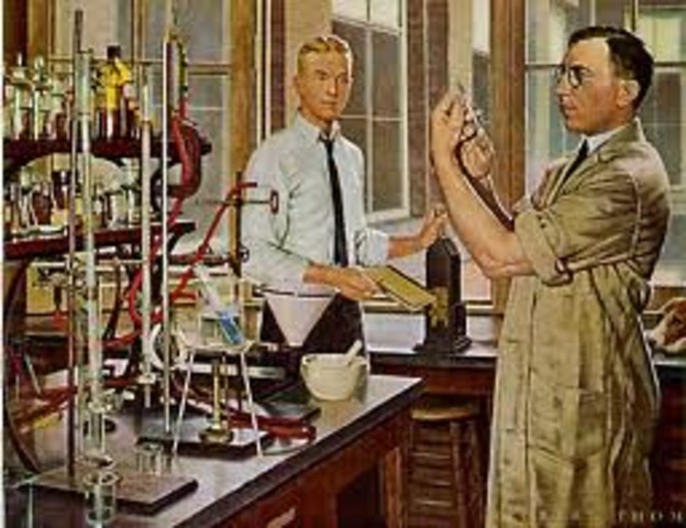 Sir Frederick Banting Isolates Insulin