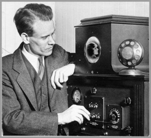 Philo Farnsworth Invents the Television