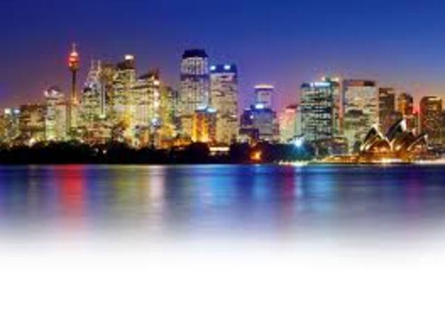Foundation of Sydney.