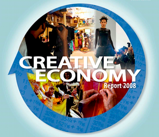 """Rapport du CNUCED """"Creative Economy Report 2008. The Challenge of assessing the creative economy: towards informed policy making"""""""