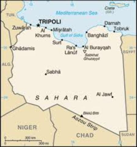 Libya and the Siege of Tobruk 1941