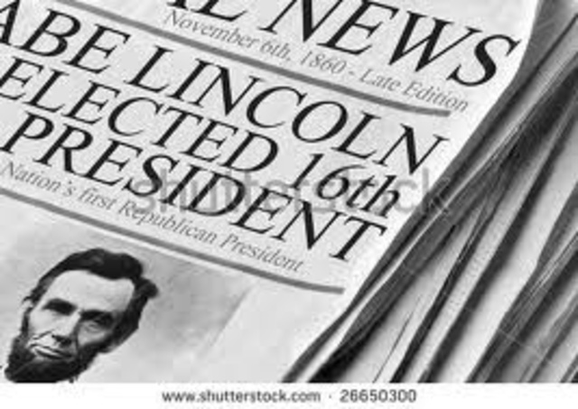 Lincoln Re-Elected President