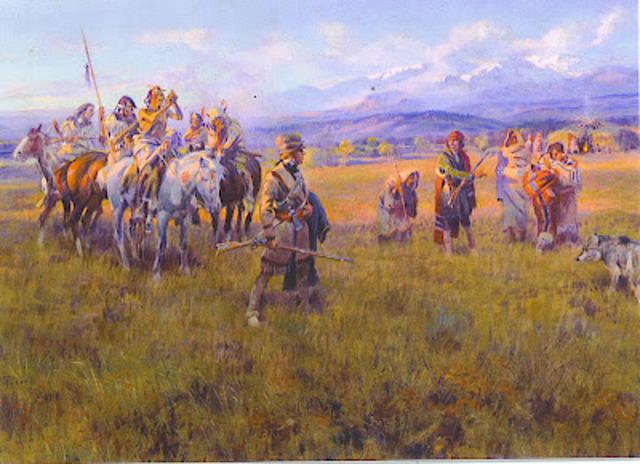 Blackfeet tribe warriors