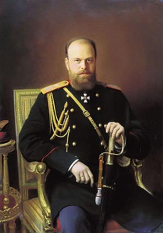 Czar Alexander III (COMMUNISM INFLUENCE)