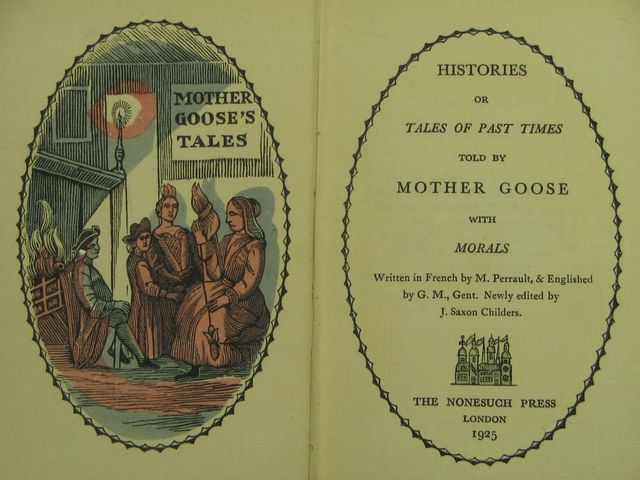 """""""The Tales of Mother Goose"""" (revisited)"""