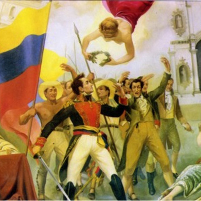Independencia de Colombia timeline