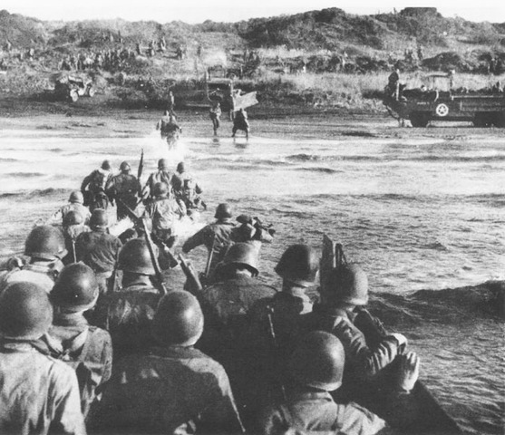Allies land in Italy (Operation Shingle)