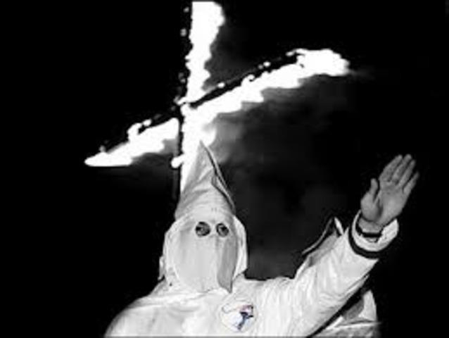 Ku Klux Klan Created