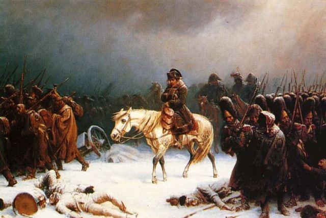Napoleon invades Russia