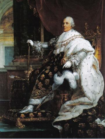 Restoration of Louis XVIII