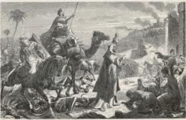 Omar Conquers Persia and Jerusalem