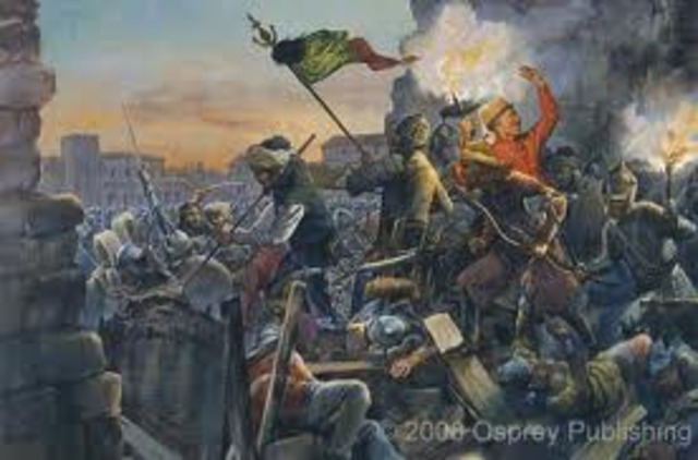 Ottoman Conquest of Constantinople - End of Byzantine Empire