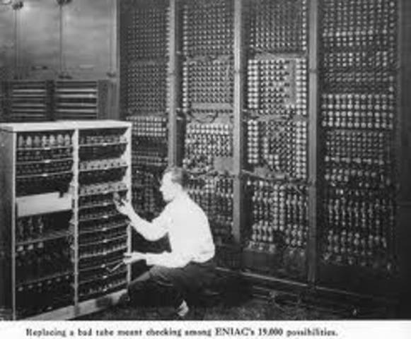 ENIAC- PRIMERA COMPUTADORA