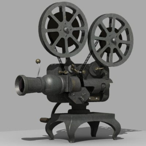 first projecter invented