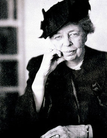 """Eleanor Roosevelt Redefines """"First Lady"""""""