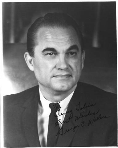 George Wallace was born.
