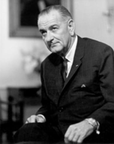Lyndon Baines Johnson was born.