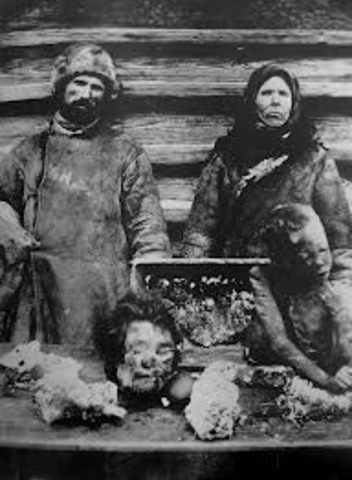The Great Russian Famine of 1921