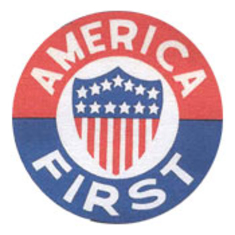 """Creation of """"America First Committee"""""""