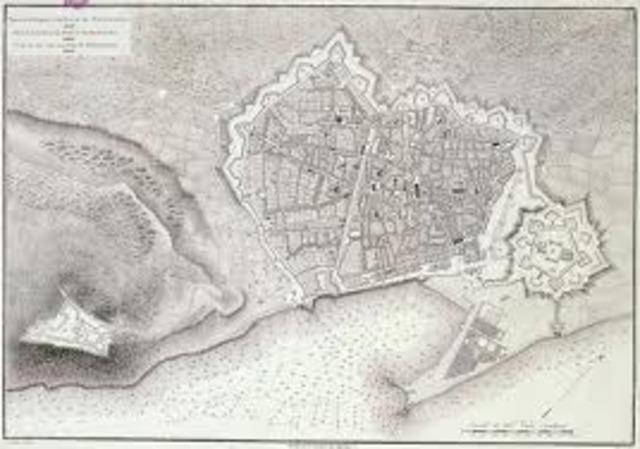 Inici de la construcció del barri de la Barceloneta