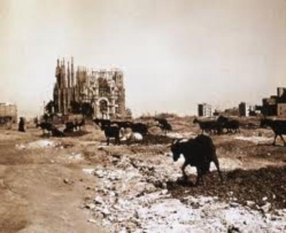 Primera pedra del temple expiatori de la Sagrada Família