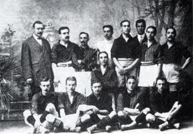 Fundació del FCB