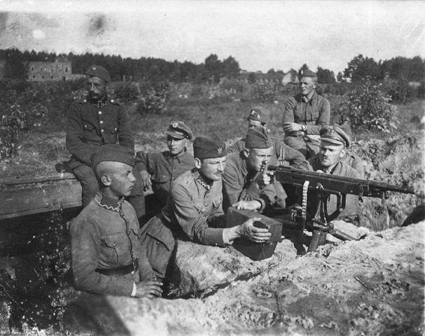 War with Poland.