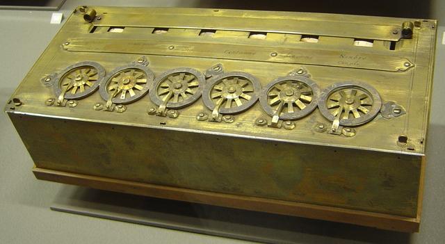 первая счётная машина