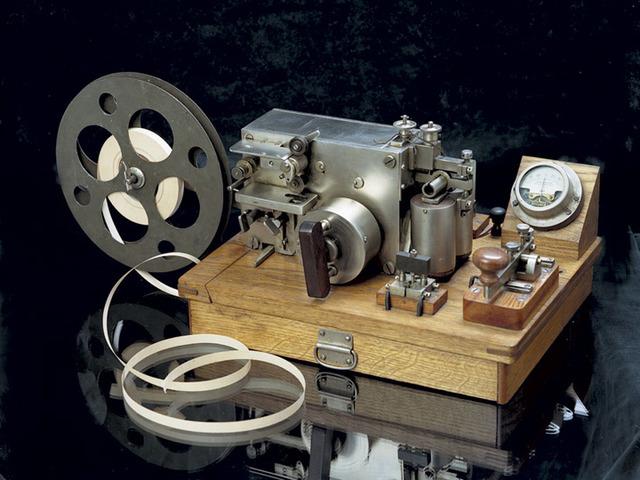 Электромагнитный телеграфный аппарат