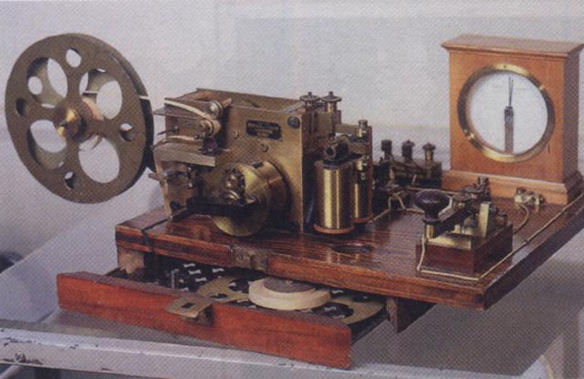 Изобретён электрический телеграф