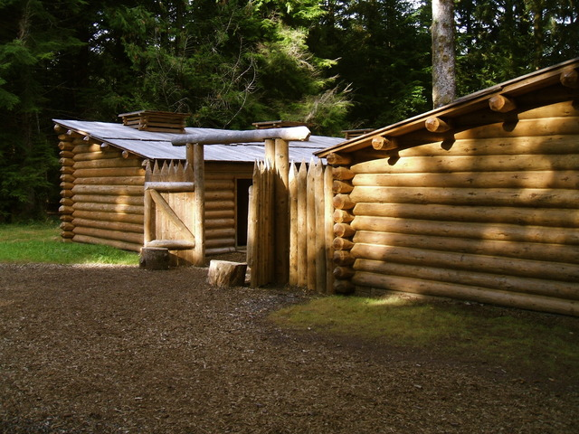 Arrive at Fort Clatsop