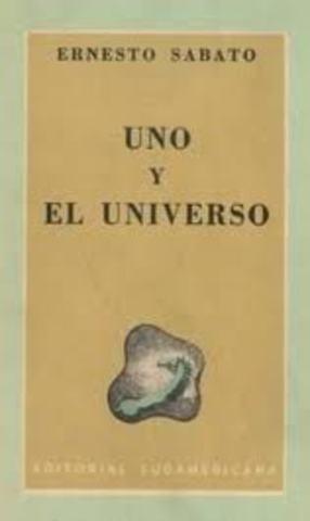 PUBLICO SU PRIMER LIBRO UNO Y EL UNIVERSO