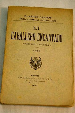 NOVELA EL CABALLERO ENCANTADO
