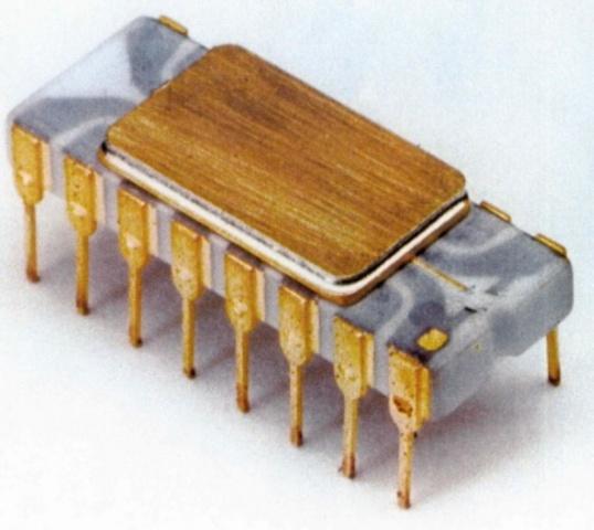 Evento 4:8080, el primer CPU de Intel