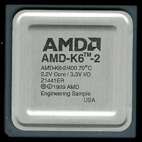 EL PROCESADOR (AMD K6-2) SEXTA GENERACION