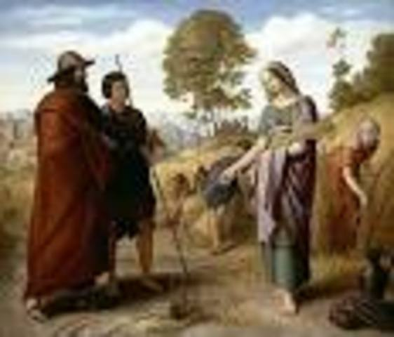 Ruth Meets and Marries Boaz: Ruth 1-4