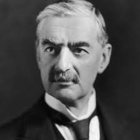 Neville Chamberlain becomes the new British Prime Minister