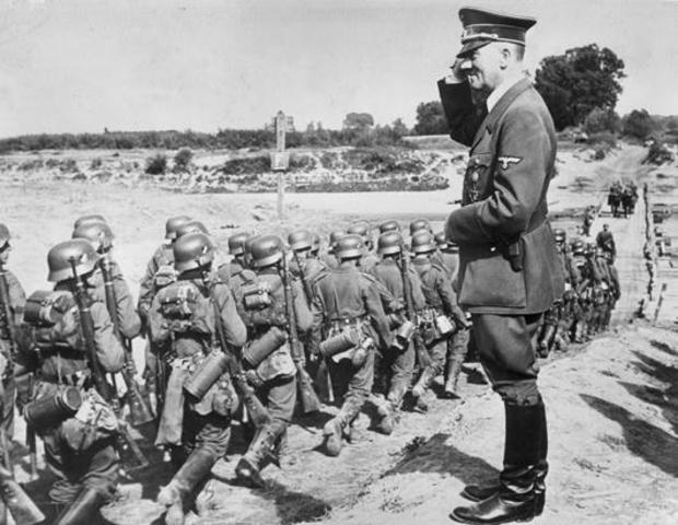 Germany invades Poland, WWII begins