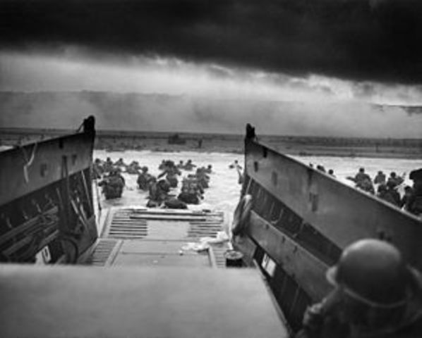 D-Day, Operation Overlord Begins