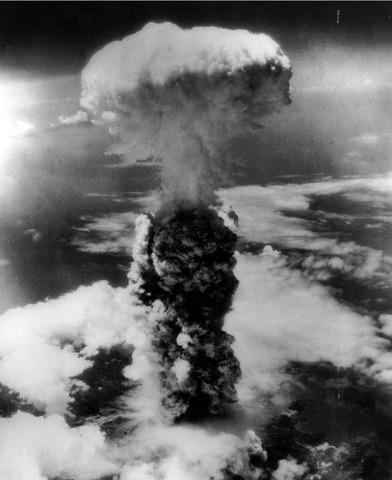 A-Bomb dropped on Nagasaki