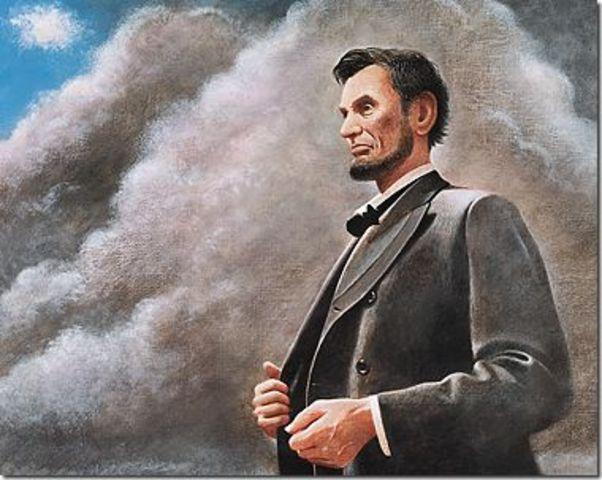 Abraham Lincoln Announces Plans for Reconstruction