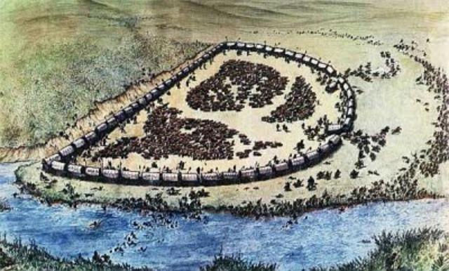 Battle between Zuli and Afrikaners
